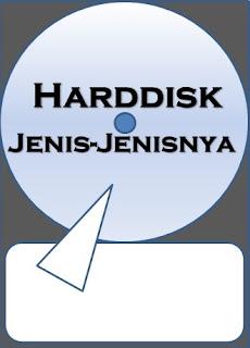 Pengertian Harddisk dan Jenis-jenisnya