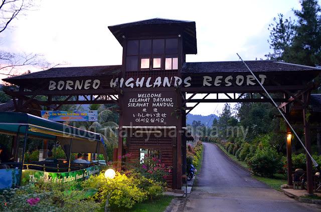 Borneo Highlands Resort Sarawak
