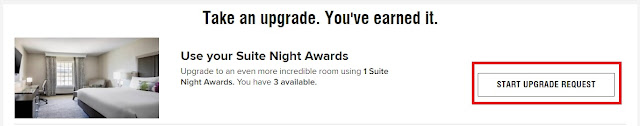 How To Request Marriott Suite Night Awards?