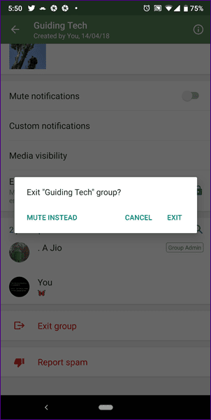 How To Delete WhatsApp Group Step by Step
