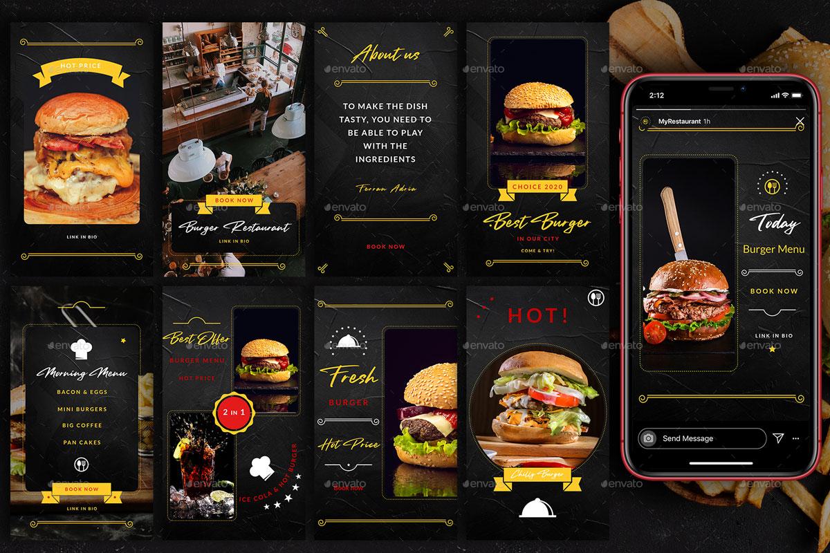 Burger Restaurant Instagram Posts%2526Stories 26312636 h%2B %2BCopy