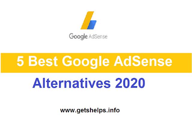 5 best Adsense alternatives 2020