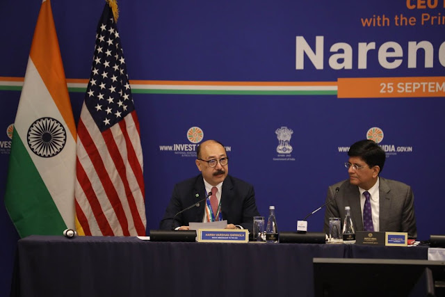 Harsh Vardhan Shringla designated as the next foreign secretary of India