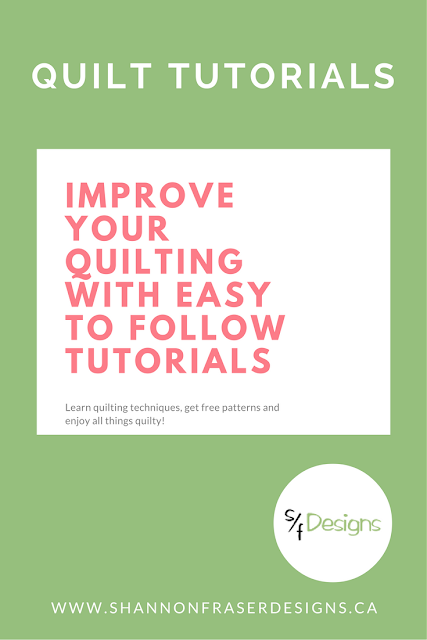 Easy Quilt Tutorials | Shannon Fraser Designs