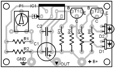 Parts Placement Layout Thermonitor