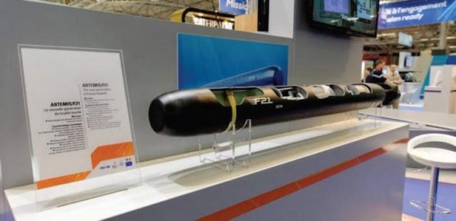 El Torpedo pesado de última generación  Francés F21