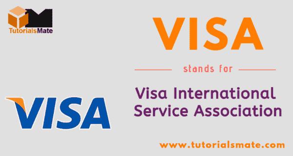 VISA Full Form in ATM