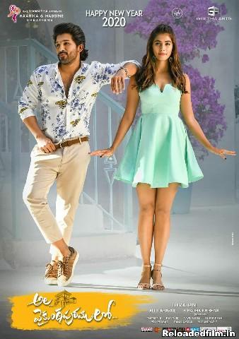Ala Vaikunthapurramuloo (2021) Hindi Dubbed Full Movie HDRip Download 480p,720p,1080p