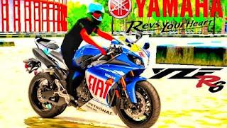 Mod bussid Yamaha YZF R6