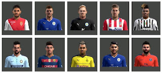 FacePack Vol 1 Pes 2013 By Ben Ameur