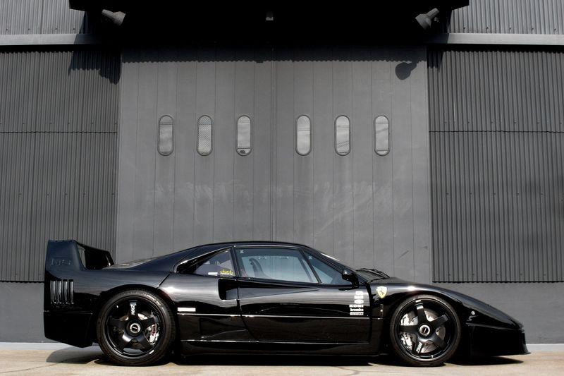 Formula 1 Car Hd Wallpapers Pick Of The Day Bingo Sport Black Ferrari F40 Ebeasts Com