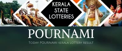 Kerala lottery today Pournami result