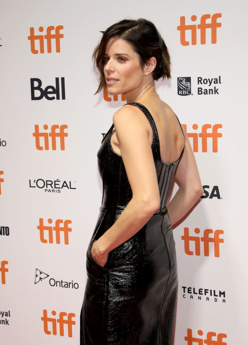 Neve Campbell Clicks at Castle in the Ground Premiere at 2019 TIFF in Toronto 5 Sep-2019