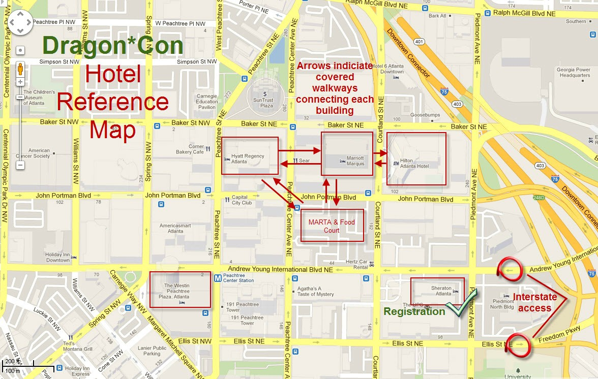 Because The Con Is Spread Out Over Such A Large Area It S Easily Most Confusing And Potentially Stressful Event You Ll Ever Attend