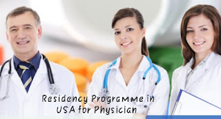Residency programme and USMLE in USA