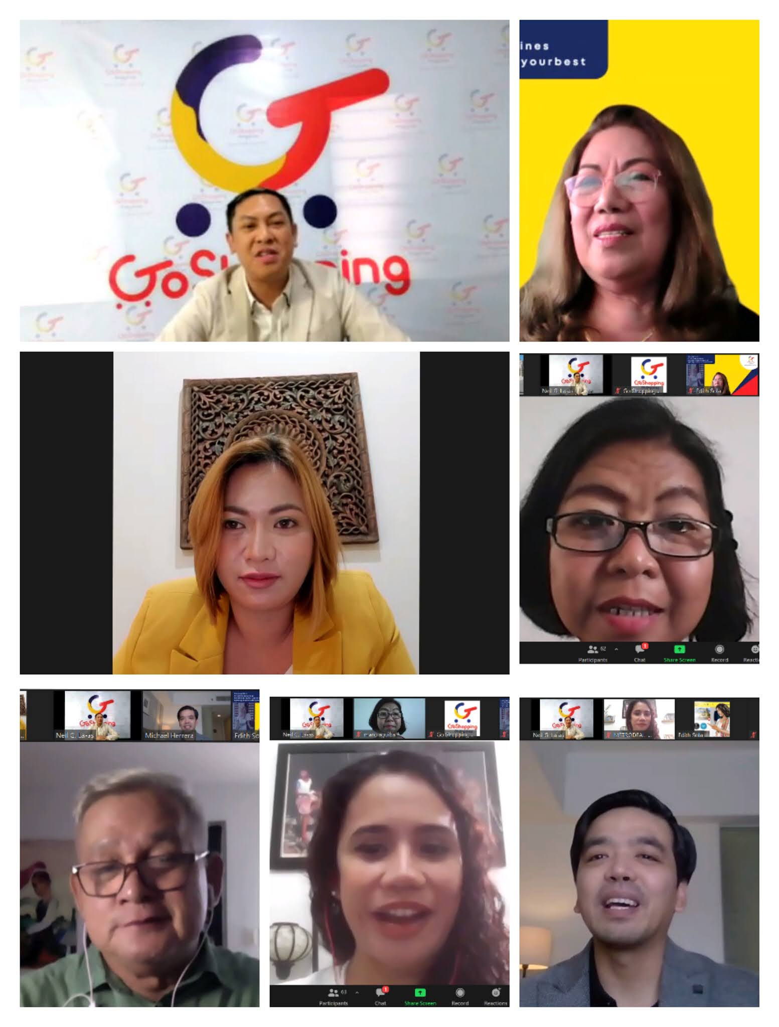 Go Shopping Philippines Executives Officials Partners