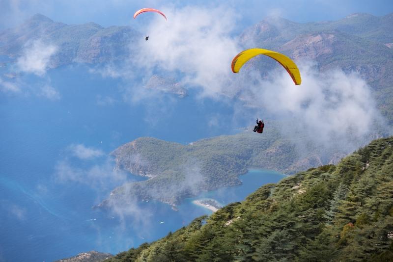 Lokasi Olahraga Paralayang yang Memiliki Pemandangan Spektakuler di Dunia