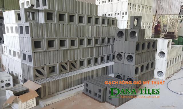 Nhà máy sản xuất gạch bông gió Dana Tiles