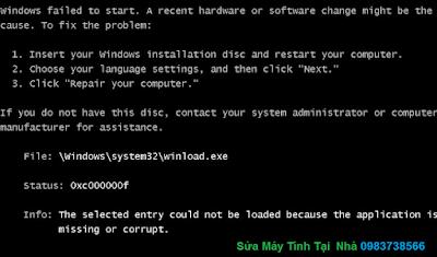 Lỗi máy tính khởi động lại liên tục - H02