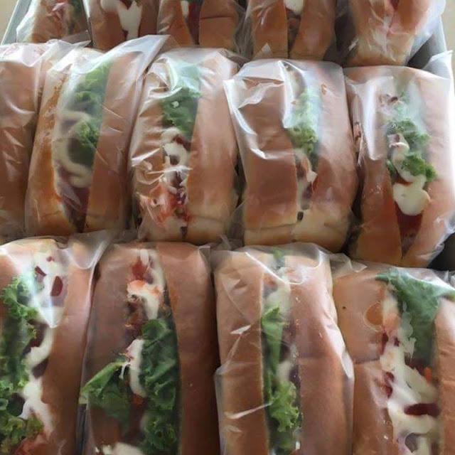 Roti kebab Murah RM1.50 Jual Kat Sekolah Jer