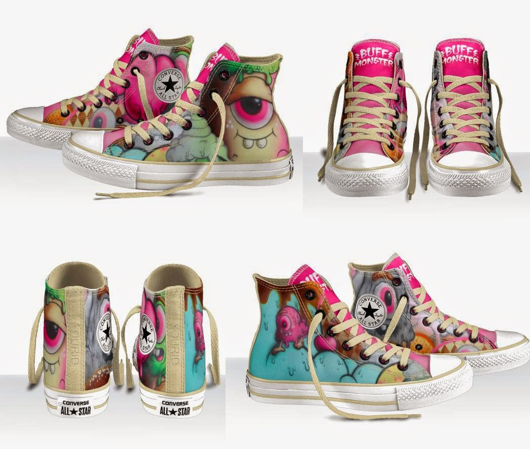 "Buff Monster ""Design Your Own"" Chuck Taylor All Star Sneakers by Converse"