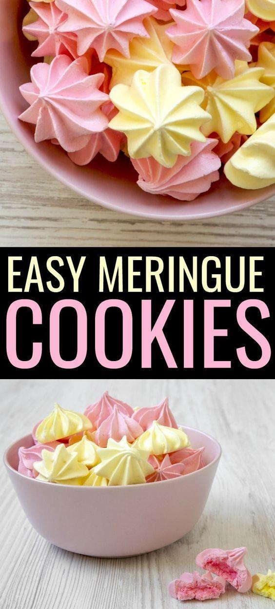 Easy Meringue Cookies