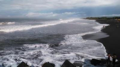 pantai Glagah indah kulonprogo