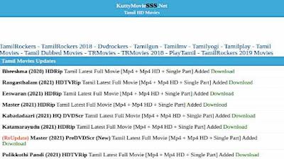 Kuttymovies Bollywood, Tamil, Telugu Movies Download in HD! Kuttymv