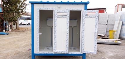 Kiralık wc, duş konteyneri