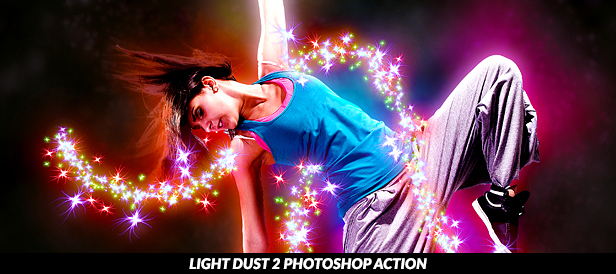 Sparkler Explosion Photoshop Action