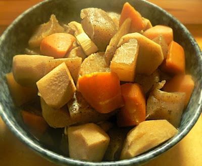 醤油:みりん:水 根菜煮