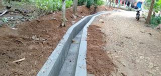Kegiatan Pembangunan Kirmir/Drainase Jalan Dusun Citelu Tahun 2021