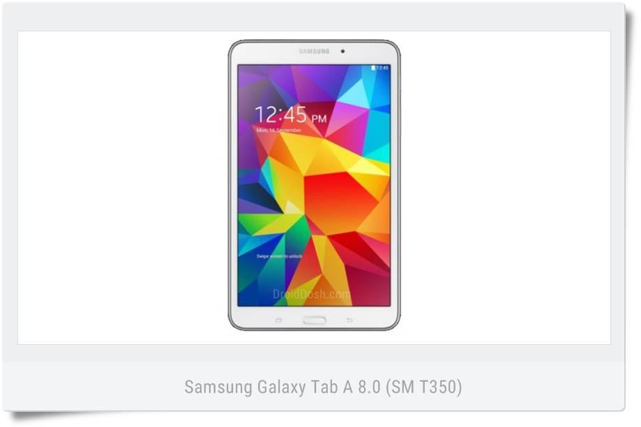 Samsung Galaxy Tab A 8.0 (SM-T350) XAC Canada