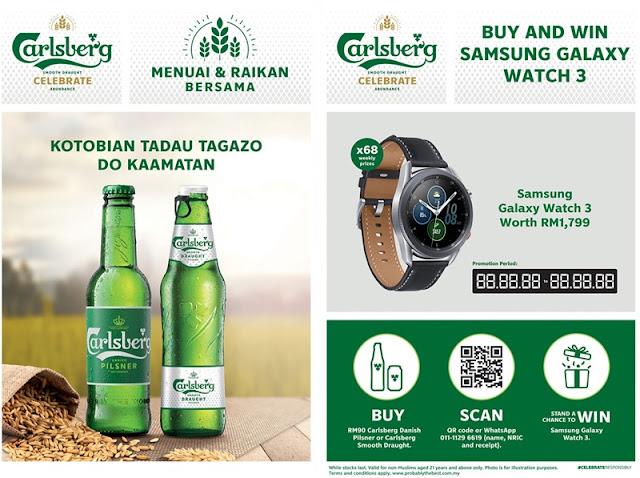 Carlsberg Beer Kaamatan Harvest Festival Promotion