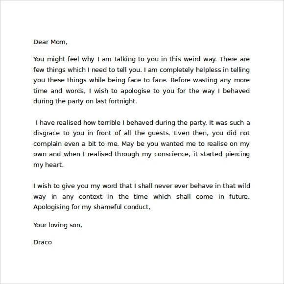 Contoh Surat Pribadi untuk Ibu (via: contohsuratin.com)