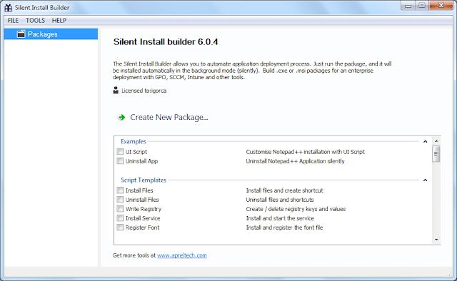 Screenshot Silent Install Builder 6.0.4 Full Version