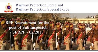 RPF Sub-Inspector(SI) Admit Card Released-Download Now