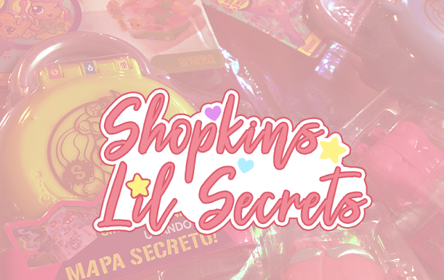 miniaturas e estojos Shopkins Lil Secrets