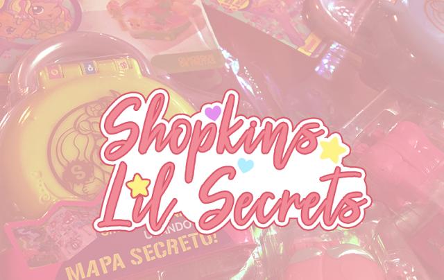miniaturas e estojos Shopkins Lil Secrets