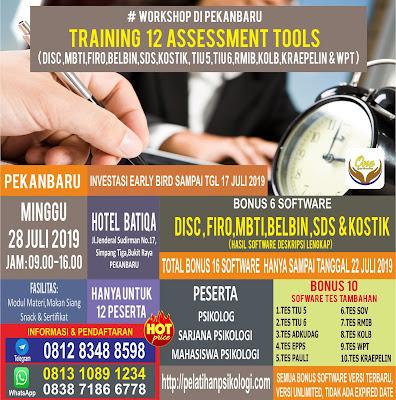 Seminar Psikologi Industri | Workshop Psikologi Alat Tes | WA: 0838-7186-6778