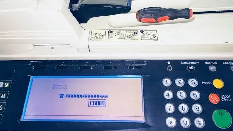 error code C6000  on Kyocera KM-2530/km-3530/km-4035