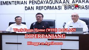 Pemerintah Perpanjang ASN Bekerja di Rumah (WFH) hingga 21 April 2020