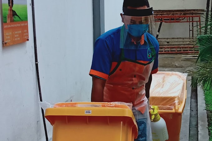 RSUD Jombang Limbah Infeksius Dikelola Khusus