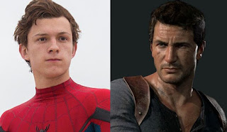uncharted: tom holland sera nathan drake