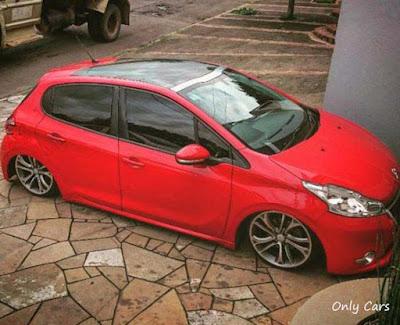 """Peugeot 208 Rebaixado Aro 17"""""""