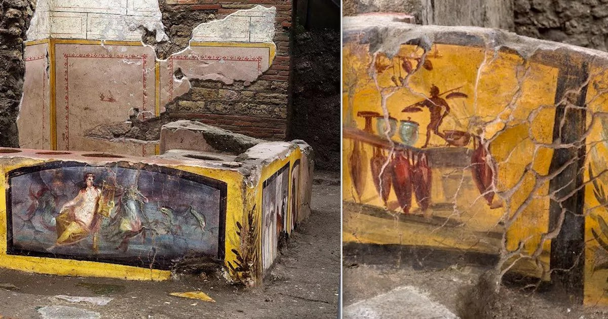 Archaeologists Uncover A Street-Food Stall In Pompeii Almost 2,000 Years After It Was Buried In Volcanic Ash