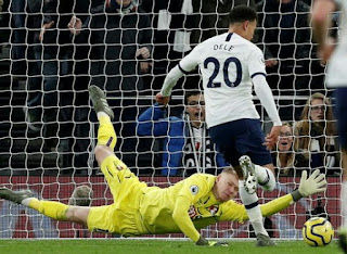 Tottenham Moves To Fifth as Dele Scored Two when Spurs saw off Bournemouth 3 - 2