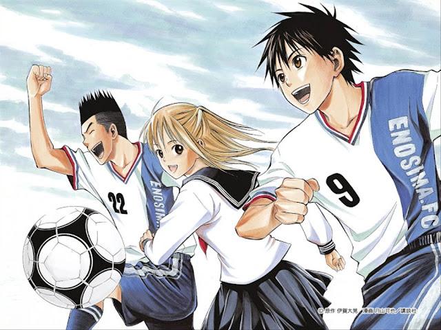 anime sepak bola
