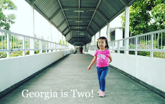 Georgia Is Two!