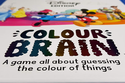 Colour brain family party colour guessing game review box cover